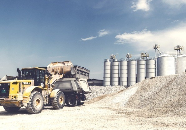 Image of Automated stockpile monitoring for increased productivity in all weather and light conditions.