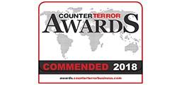 Navtech commended for the CounterTerror awards 2018