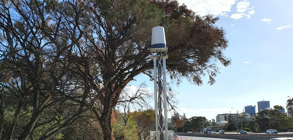 Radar on Perth Freeway